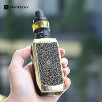 Wholesale speed electronics online - 100 Authentic Vaporesso Polar W Mod Electronic Cigarette TC Box Mod with rapid speed Fit For Cascade Baby SE Tank Elego