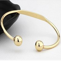 Wholesale bracelet energy cuff online - Health Magnet Bracelet Open Cuff Bangle Blanks Charm Bracelets For Women Copper Magnetic Bangle Energy Jewelry For Ladies