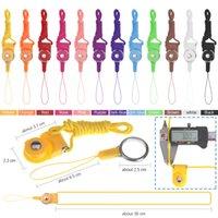 apfel iphone halsband großhandel-Zlcdez abnehmbare Umhängeband Lanyard Ring für iPhone x 8 Samsung Handy-ID-Karte Abzeichen MP3 PSP-Schlüssel keychain Halter Halskette