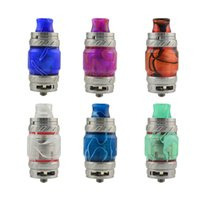 Wholesale Quality Visual - Resin Replacement Tube Caps Kit Big Capacity For TFV8 Big Baby TFV12 PRINCE Glass Tank Expansion Tank Visual Ability High Quality DHL
