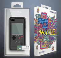 Wholesale Apple Game - Gameboy Tetris Phone Cases Play Blokus Game Console Cover TPU Shockproof Protection Case For Iphone 6 6s 7 8 Plus X Retail package