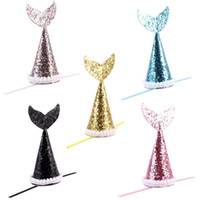 ingrosso clip di cappello dell'arco-Sequins Pure Color Hairpin With Small Bow Knot Clip di capelli Colorful Pet Supplies Hat Shape Dog Cat Grooming Accessori 5 8my jj