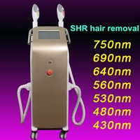 Wholesale Ipl Filters - 2500W OPT SHR IPL Hair Removal Machine with 7 filters IPL Epilation Elight Skin Rejuvenation Acne Pigment With Imported Lamp