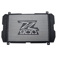 Wholesale radiator guards for sale - For KAWASAKI Z900 radiator protector cover Bezel Grille radiator guard motorcycles motorbike engine grill guard cover