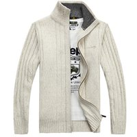 ingrosso jeep sweaters-AFS JEEP NOVITÀ Solid Colors Mens Sweater New Casual Cardigan Sweaters Plus Size M-3XL 78