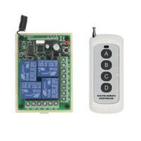 Wholesale wireless toggle switch resale online - 500m DC V V CH CH RF Wireless Remote Control Switch System Transmitter Receiver MHz Momentary Toggle