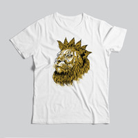 Wholesale cool animal t shirts resale online - Mens Summer Cool T Shirts New Fashion Short Sleeve Animal Printed Male Loose Tops Tees Cotton Clothes