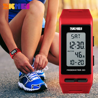 marcas de pulso de pulso venda por atacado-SKMEI 1363 Marca Mulheres Relógios Pedômetro Calorias Digital Watch Ladies Correndo Ao Ar Livre Relógio De Pulso Eletrônico Relógios Das Mulheres Esportes