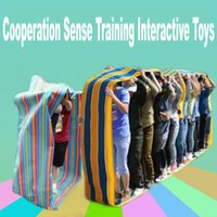Wholesale houses inflatables - Outdoor Team Cooperation Sense Training Interactive Toys Sports Meeting Equipment Kids Educational Sports Games Toys for School