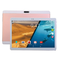 Wholesale tablets 3g 4g resale online - 10 inch tablet Android Octa Core MP GB RAM GB ROM Cores IPS Screen phone call G G LTE FDD Tablets