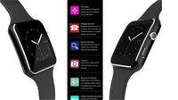 smart phone samsung uhren großhandel-Smartwatch Curved Screen X6 Smart Uhrenarmband Handy mit SIM TF Karten Slot mit Kamera für Samsung Android Smartwatch