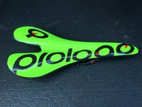 Wholesale saddle for sale - Prologo Saddle yellow fluo Road Bicycle Saddles Durable Road Bike Saddles for Men Full Carbon Fiber Material New Arrivals for Sale