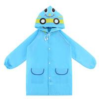 Wholesale rain ponchos for kids - 2017 New Style Free size Poncho Waterproof Kids Rain Coat For Children Raincoats Rainwear,Kids School Cartoon Raincoat