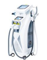 vendre machine ipl achat en gros de-Vente chaude puissant 4 En 1 Opt + RF + Laser + IPL Shr peau Rajeunissement Tattoo Épilation Machine Envoi Gratuit