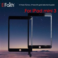 Wholesale mini tablet free for sale - Group buy EFaith For iPad Mini Digitizer Outer Panel Touch Screen Front Glass Sensor With IC Connector DHL Free