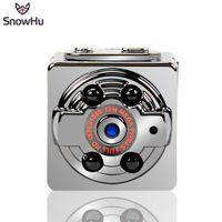 Wholesale Car Drive Video - SnowHu mini camera in Mini camcorders 1080p HD night vision Micro Camera Sports DV Voice Video Recorder for Car Driving SQ8