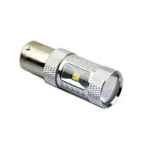 luz de marcha atrás led 24v al por mayor-1156/1157 CREE XBD Chips 30W P21W BA15S LED Luz de respaldo 12V 24V para automóvil Bombilla de marcha atrás iluminación para automóvil
