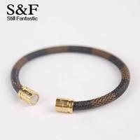 Wholesale bracelets magnets for sale - Group buy New Arrival Leather Bracelet Men Bracelets For Women Pulseira Masculina Magnet Man Jewelry Charm Bileklik Pulseiras