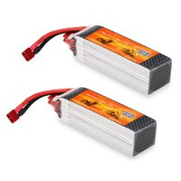 Wholesale lipo batteries for rc cars - 2X Rechargeable 3300mAh 22.2V 45C 6S LiPo Battery Pack for RC Car Truck Airplane