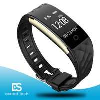 Wholesale tw64 smart band fitness tracker online – 2019 Dynamic Heart Rate S2 smartband fitness tracker Step Counter Smart Watch Band Vibration Wristband for ios android pk ID107 tw64
