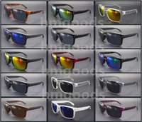 Wholesale dot sports resale online - New Brand design Sport Shine Outdoor Eyewear Dot Travel Reflective Square Woman Man Glasses Sunglasses Goggles Mirror Unisex