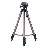 weifeng tripodlar toptan satış-Weifeng wt3130 protable hafif alüminyum kamera tripod canon nikon sony dslr kamera dv kamera