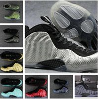 Wholesale Clear Colour - 32 Colours New Model High Quality Air Penny Hardaway Shooting Stars White Black Men's Basketball Sport Footwear Sneakers Trainers Shoes