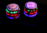 Wholesale beyblade toys free for sale - Group buy New Flash Gyro Gyroscope Colorful Lights Peg Top Manual LED Beyblade Music Top Selling Children s Free Spinning Top Toys