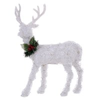 led, iluminado, natal, cervo venda por atacado-DONGLIN Natal novo produto LED de iluminação de Natal cervos sala de estar moderna varanda sala de amostra decoração criativa