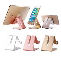 tischplatten-tischständer großhandel-ET Universal-Handyhalter Metall Anti-Rutsch-Handy-Halter Desktop-Tischhalterung Telefon Stand für iPhone Smartphone Samsung Tablet