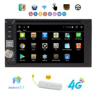 Wholesale android double din tv resale online - Eincar Android GB GB quot HD Car Stereo Double Din Car DVD Player Head Unit GPS Navi SWC WIFI Bluetooth