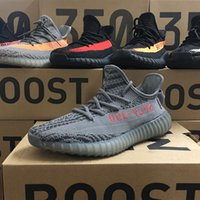 89ea0efae Big Discount Original Real butter 350 V2 Zebra Beluga Blade Cream Running  Shoes for Kanye West SPLY 2.0 Runners Casual Sneakers Size36-46