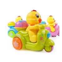 Wholesale Electric Kids Ride - Kids Toy Flash Electric Music Chiken Ride Motorcycle Toys Chiken Pet Sing Storytelling Learning Toy Gifts