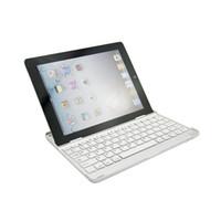 teclado de proyección de iphone al por mayor-2018 caliente de alta calidad de aluminio inalámbrico Bluetooth teclado para almohadilla 1/2 5 6 batería de litio 160 mah GFSK 3.0 interfaz estándar