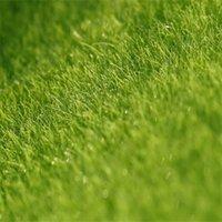 ingrosso paesaggio verde del prato inglese-Micro Landscape Originalità Fairy Garden Miniature Simulazione Green Moss Lichen Ecology Artificial Lawn Bryophyte Home Decorations 1 5cj bb