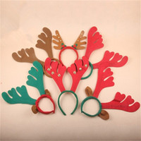 Energetic Luminous Antlers Ears Hairpin Led Christmas Light-up Headband Headdress Christmas Party Antler Xmas Headbands New Year 2018 Girls' Baby Clothing