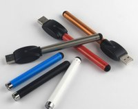 preço do cigarro vaporizador venda por atacado-Preço de fábrica O-caneta vape 510 bateria CE3 280 mAh e cig 510 thread e cigarros vaporizador forcartridge vaporizador