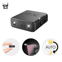 Wholesale micro camera sd motion for sale - Group buy ET XD Wireless Mini Camera Smallest HD P Camcorder Micro Infrared Night Vision Cam Motion Detection Car DVR Support TF SD