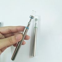 Wholesale open silicon - Ceramic coil 310mah Disposable vape pen e cigarette open vapor 100% Authentic BUD D1 vaporizer pen Glass cartridges empty tank e cigarettes