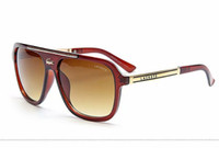 Wholesale eyewear accessories online - Luxury Brand Men s Vintage Square Sunglasses Polarized Lens Eyewear Accessories Male Sun Glasses For Men Women crocodile