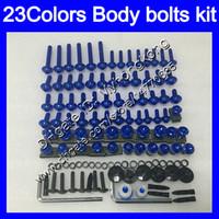 Wholesale Ninja Kawasaki Body Plastics - Fairing bolts full screw kit For KAWASAKI NINJA 650R ER-6F 09 10 11 ER 6F 09-11 ER6F 2009 2010 2011 Body Nuts screws nut bolt kit 23Colors