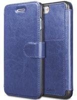 slot pour carte iphone achat en gros de-Pour iPhone 6 8 7 Plus Etui portefeuille en cuir avec des cartes Slot Metal Magnétique Slim Fit Etui robuste en plastique TAKEN Flip