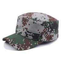 ingrosso cappelli da soldato-Ricamo 3D Cap Tactical Flecktarn Camouflage Cap Uomini US Soldati tedeschi Combat Army Baseball Unisex Paintball Flat Cappelli