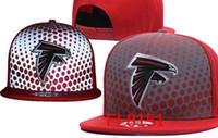 Wholesale Atlanta Caps - Wholesale Atlanta caps Embroidery Falcons hats Snapback adjustable hats for men Women snapbacks sport fashion