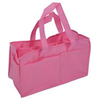 детские розовые сумочки оптовых-Pink Baby Boy Girl подгузник подгузник материнская сумка портативная сумочка