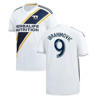Wholesale Names Galaxies - Perfect 2018 Galaxy Soccer Jerseys home custom name number Ibrahimovic 9 giovani 10 football shirts top quality big size xxl xxxl 4xl