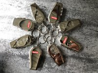 Wholesale keychain good for sale - Group buy sup17 FW new Coffin Keychain all in stock good quality with box