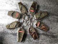 porte-clés bien achat en gros de-sup17 FW nouveau porte-clés coffin tout en stock de bonne qualité avec boîte