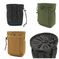 Wholesale running gym bag online - Outdoor Tactical Molle Pouch Belt Waist Pack Kit Bag Small Pocket Sports Running Pouch Travel Camping Waist Bag DDA555