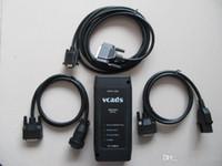 volvo vcads pro großhandel-NEUESTE für VOLVO Vcads Pro Interface 9998555 mit Kabelsatz Heavy Truck Diagnose-Tool Volvo